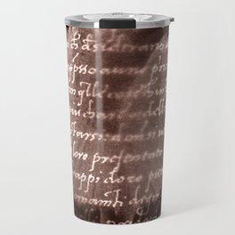 Ballerina III (brown edition) Travel Mug