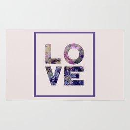Succulent Uv LOVE #society6 #love #ultraviolet Rug