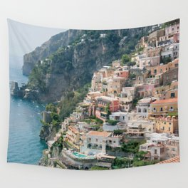 Italy. Amalfi Coastline Wall Tapestry