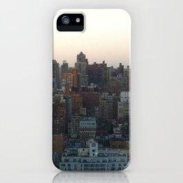city skyline iPhone Case