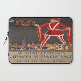 Vintage poster - Antwerp Laptop Sleeve