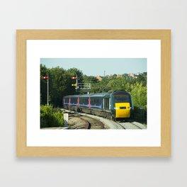 Worcester HST Framed Art Print