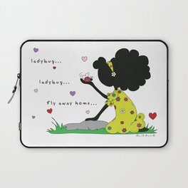 Ladybug, Ladybug Fly Away Home... Laptop Sleeve