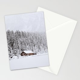 blinded by the white // lake louise Stationery Cards