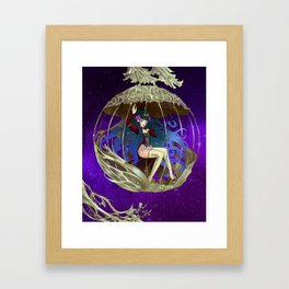 galaxy's Fortune Framed Art Print