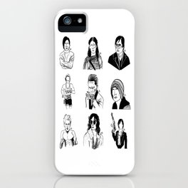 Faces of Leto iPhone Case