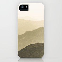 Cali Hills iPhone Case