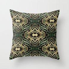 WAVY PALM Throw Pillow