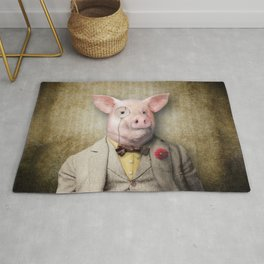 Mr Hamish P. Hoggswallow Rug