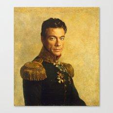 Jean Claude Van Damme - replaceface Canvas Print