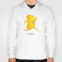 rush Hoodies featuring Gold Rush by Artistic Dyslexia
