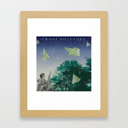 Cross Polytope (16 Cell Revisited) Framed Art Print