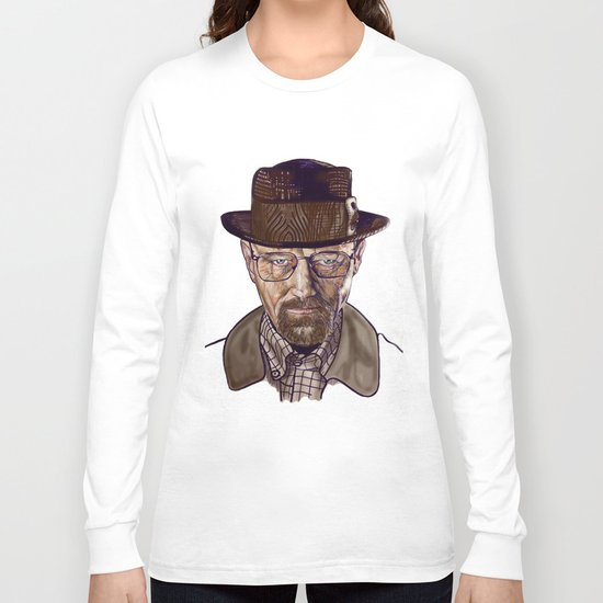 Heisenberg (color) Long Sleeve T-shirt