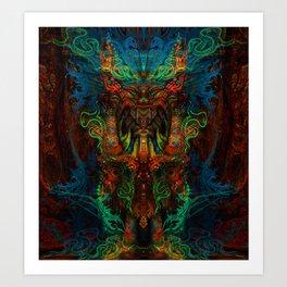 Shaman Art Print