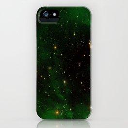Nebula California, An Emerld Delight iPhone Case