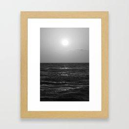 Slow Glow Framed Art Print