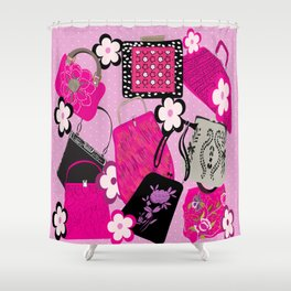 Bags of Fun Design Shower Curtain
