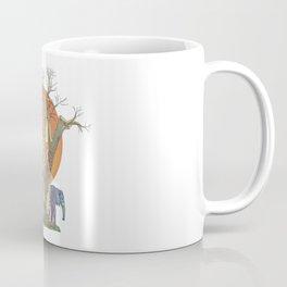 Elephants By Sunset Coffee Mug