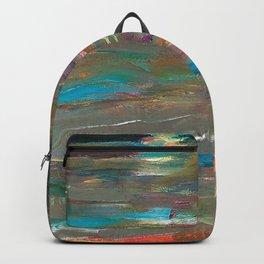Ocean Currents at Twilight by Hubertine Heijermans Backpack