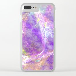 Abstract Fabric Designs 4 Duvet Covers & Pillows & MORE Clear iPhone Case
