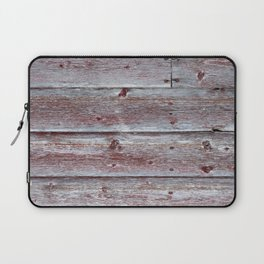 Brown Red Barn Laptop Sleeve
