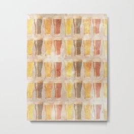 Beer Beer Beer Metal Print