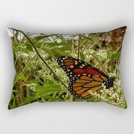 Feeding butterfly Rectangular Pillow