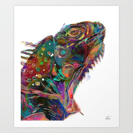 Cresce  Art Print