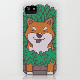 Just hangin' out here.. (Inu Series) iPhone Case