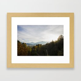 Autumn in Innsbruck Framed Art Print