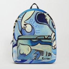 Reves Bleus (blue dreams) Backpack
