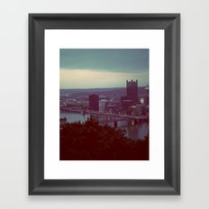 Pittsburgh III Framed Art Print