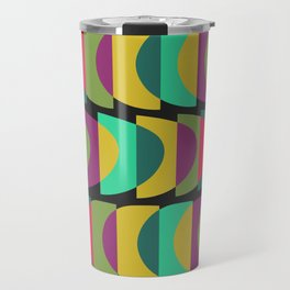 What Color Is The Moon? Travel Mug