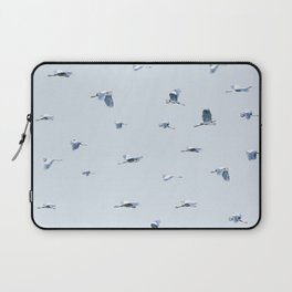 Blue Blue Heron Laptop Sleeve