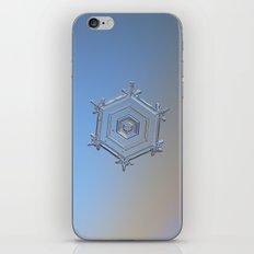 Real snowflake macro photo - Serenity iPhone & iPod Skin