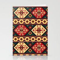 kilim Stationery Cards featuring Colorful Kilim by Pattern Design
