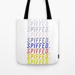 SPIFFED. (vaca) Tote Bag