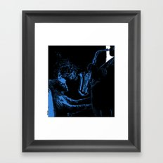 asc 441 - La muse (Playing just for you) Framed Art Print