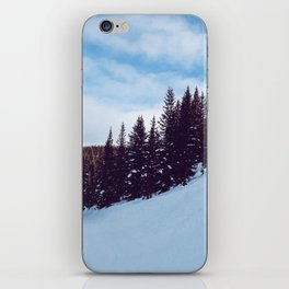 Skiing the Slopes iPhone Skin