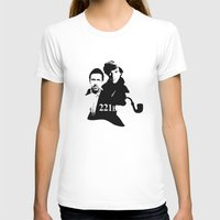 221b T-shirts featuring Residents of 221B by MadTee