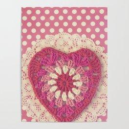 Crochet Valentine Poster