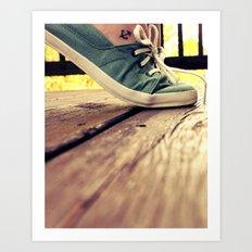 tip toes Art Print