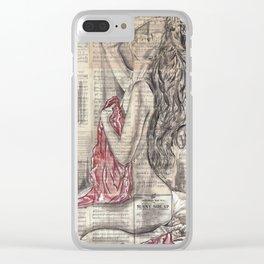 Cordelia Clear iPhone Case