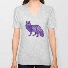 Fox by Night Unisex V-Neck