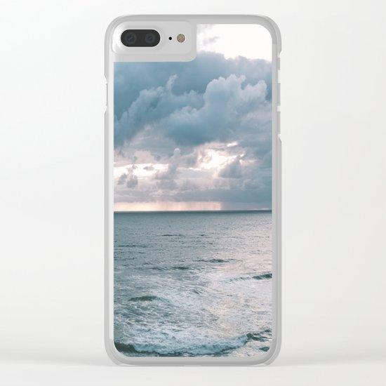 Oregon Coast X Clear iPhone Case