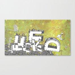 Fade Canvas Print