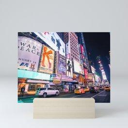 New York Neon Jungle Mini Art Print