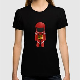 2001 Space Odyssey Red Suit T-shirt