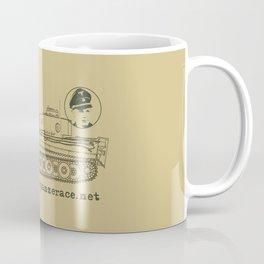 Michael Wittmann Panzer Ace 1331 Kursk Sand/Olive Green Coffee Mug