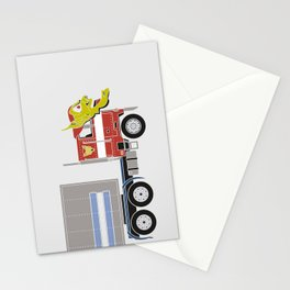 Robot's Wrong Disguise Stationery Cards